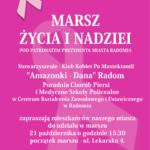 Marsz Życia i Nadziei - 21.10.2016 r. w Radomiu